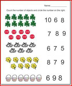 Worksheets Kindergarten Math Pre Kindergarten Worksheets Learning The Numbers From 1 To 10 Math Packet For Pre K And