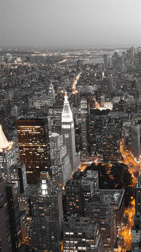 Nyc Iphone X Wallpaper 4k by Cool City Lights 4k Hd Android And Iphone Wallpaper