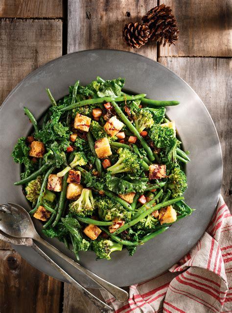 ricardo cuisine noel poêlée de légumes verts au vin ricardo