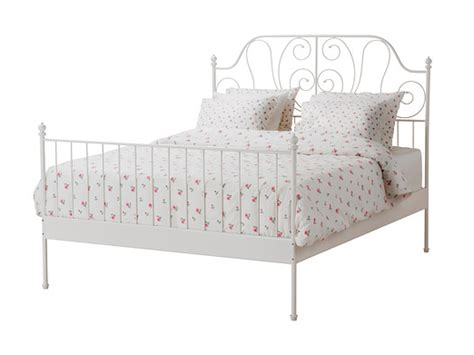 Wrought Iron Bed Ikea by Ikea White Metal Bed Frame