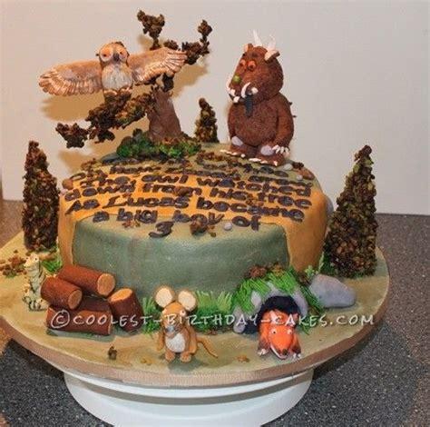 cool gruffalo birthday cake cake decorating pinterest