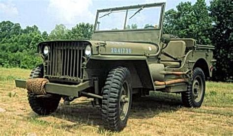 car willys mb car specifications  history  creation