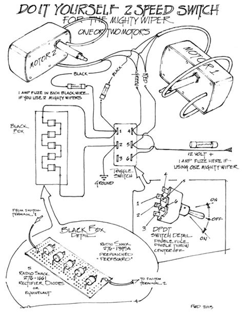 The Mighty Wiper Wiring Diagram Raingear Systems