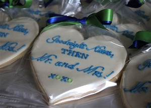 heart shaped cookies for a rehearsal dinner With wedding rehearsal dinner favors
