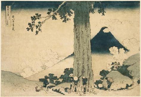 estes le mont fuji d hokusai le japon d asiemut 233 e