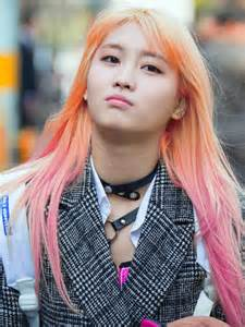 Pink Hair Momo Twice