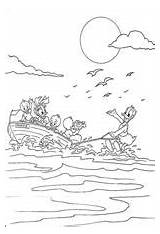 Coloring Pages Skiing Water Fun sketch template
