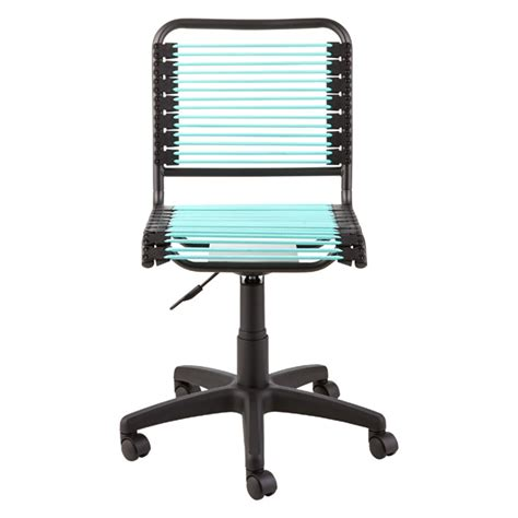 turquoise bungee office chair  container store