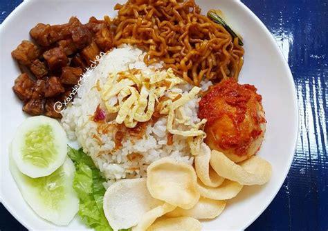 resep nasi uduk gurih  pulen resep makanan resep