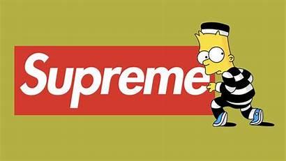 Supreme Bart Simpson Wallpapers Simpsons Pc Desktop