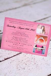 custom vintage damask wedding invitations canada empire With tri fold wedding invitations canada