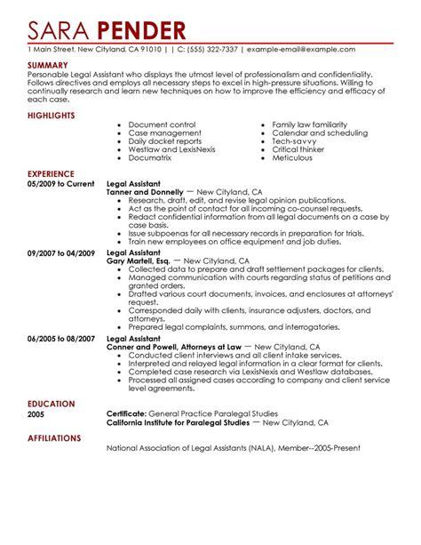 Admin responsibilities resume