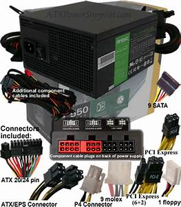 Power Supply Cross Reference Chart Antec Truepower Tp 550 550 Watt Power Supply