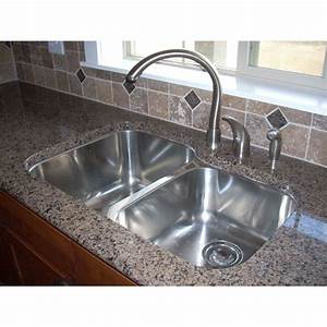 31 Inch Stainless Steel Undermount 60/40 Double Bowl
