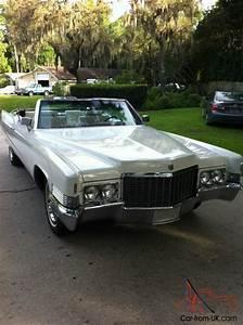 1970 Cadillac Deville All Orginal 52k Miles Convertible