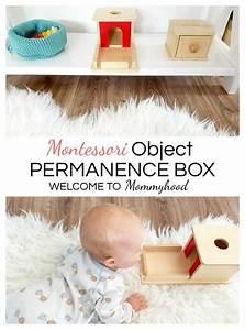 Spielzeug Für Neugeborene : montessori toys for babies object permanence box montessori spielzeug spielzeug f r baby und ~ Watch28wear.com Haus und Dekorationen