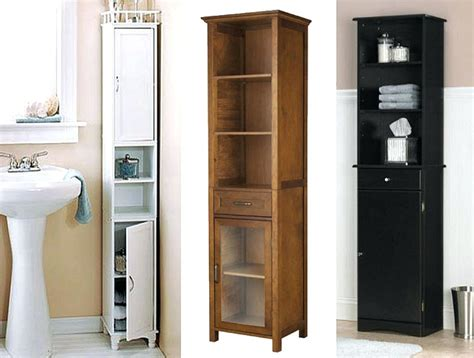 tall cabinet with shelves amazing narrow bathroom cabinets 1 tall storage