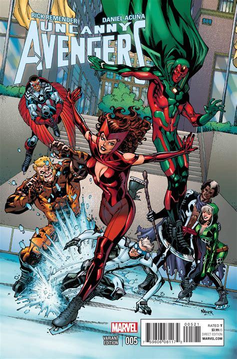 preview uncanny avengers  comic vine