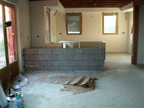 construire un bar de cuisine construction