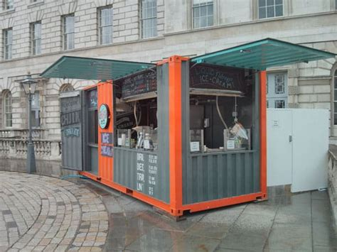 pop  cafe    shipping container  starting  business easier adaptainer