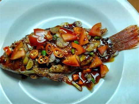 Ikan kerapu lebih terasa kelembutannya bila dikukus. Resep Ikan Kerapu Goreng / ikan keluwek resep | DENTIST ...