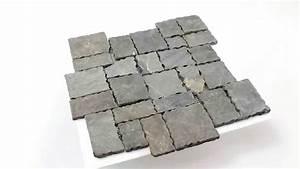 Mosaik Fliesen Anthrazit : naturstein mosaik fliesen anthrazit getrommelt youtube ~ Orissabook.com Haus und Dekorationen