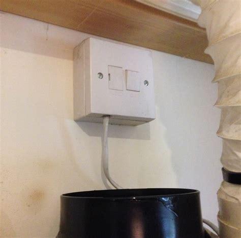extractor fan cooker hood socket diynot forums