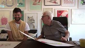 Serge Seidlitz meets Bob Gill at Print Club London - YouTube