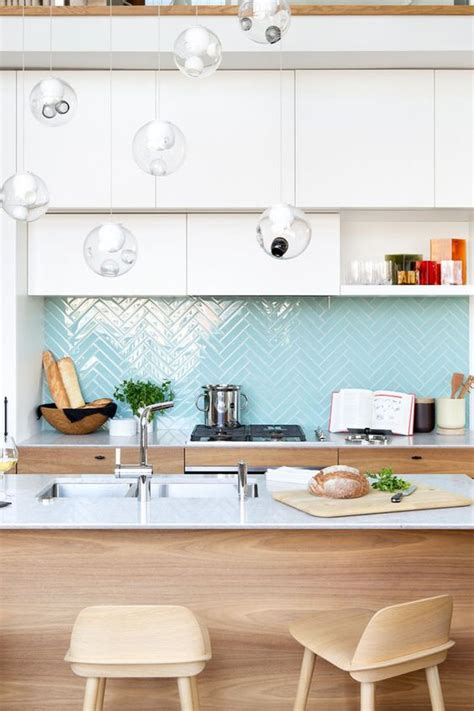 edgy geometric kitchen backsplashes   inspired
