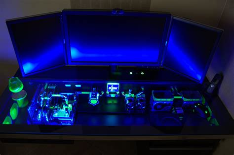 custom built gaming desk this custom built computer desk case will make your pc