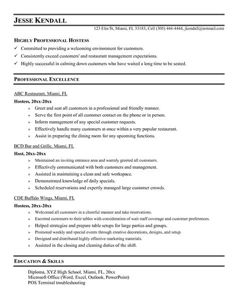 Hostess Job Description For Resume  Samplebusinessresume. Valuable Skills For Resume. Objective On Resume Example. Call Centre Sample Resume. Resume For Food Service. No Job History Resume. Skills Based Resume Example. Experience On Resume. Top 10 Objectives For Resume