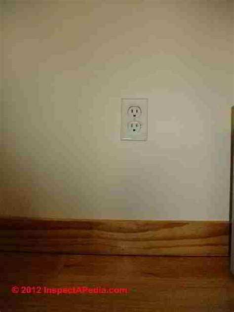 electrical outlet height clearances spacing   space  allowed  electrical