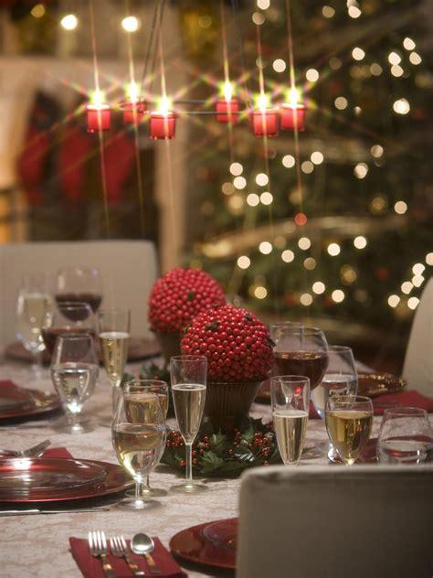 chandeliers  table settings sparkle hgtv