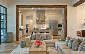 wood interior homes suburban house with exposed interior wood beams
