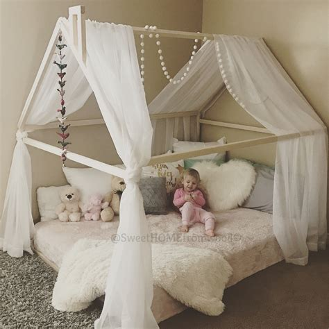 Toddler Bed House Bed Tent Bed Children Bed Wooden