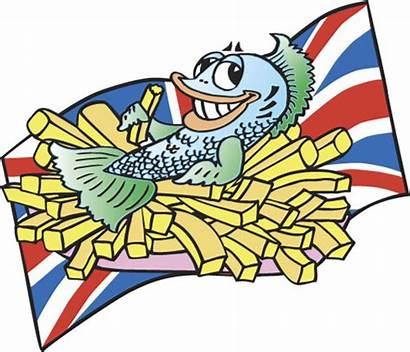 Chips Fish Clipart Clip Cartoon Cliparts Cartoons