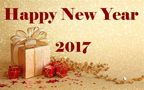Happy New Year 2017 Gifts Wallpaper 11638