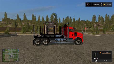 Fs17  Kenworth T800 Log Truck Pack V1  Fsmod  Fs17 Mods