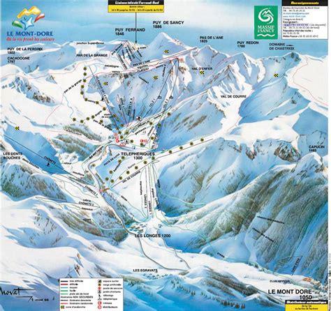le mont dore ski resort guide location map le mont dore