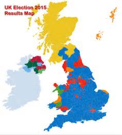UK 2017 Election Results Electoral Map