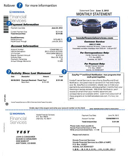 ally lease payoff phone number honda account management lease statements