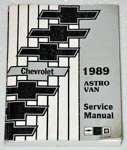 2001 Chevy Astro Van Electrical Diagram : 1989 chevy astro van factory service manual mini van ~ A.2002-acura-tl-radio.info Haus und Dekorationen