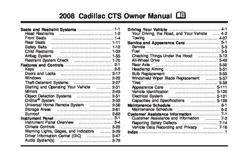 cadillac cts owners manual  give   damn manual