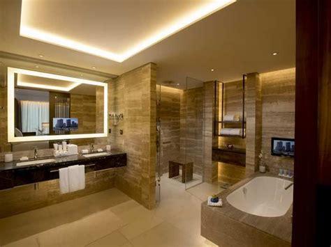 shower with jets luxury hotel bathroom ideas