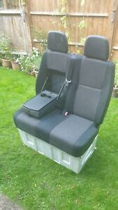 Factory seat on factory base; Mercedes Sprinter/VW Crafter Passenger Double Seat & Base GOOD COND 2006-2017 | eBay