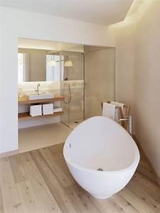 1001 modeles inspirants d39une salle de bain avec parquet With douche parquet