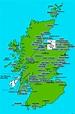Map of Scotland :: Jim Gold International