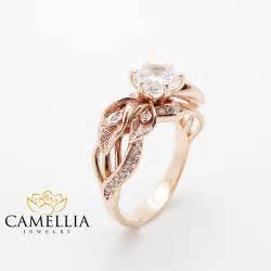 verlobungsringe solitaire 18k gold engagement ring calla unique