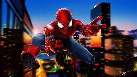 wallpaper spider man speed paint  creative graphics