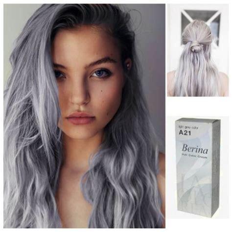 Gray Punk A21 Berina Hair Cream Semi Permanent Hair Dye